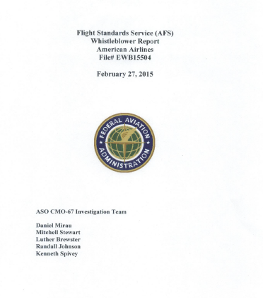 FAA-Chicago- Report