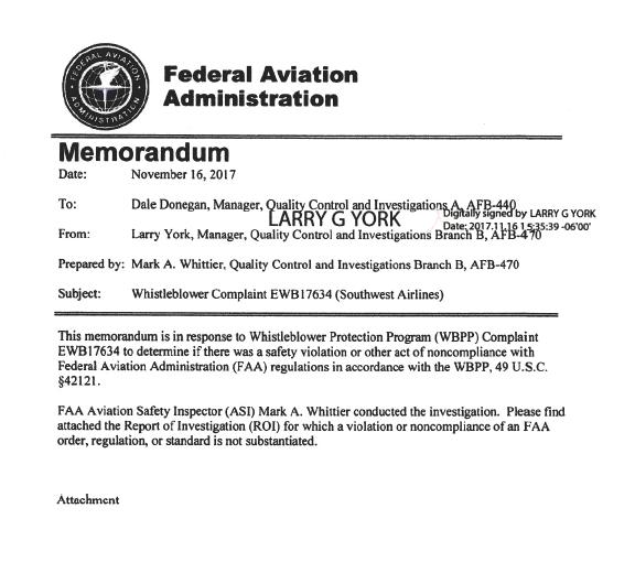 FAA-SWA-LAX-Report